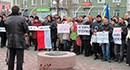 Бердянцы поддержали митингующих киевлян