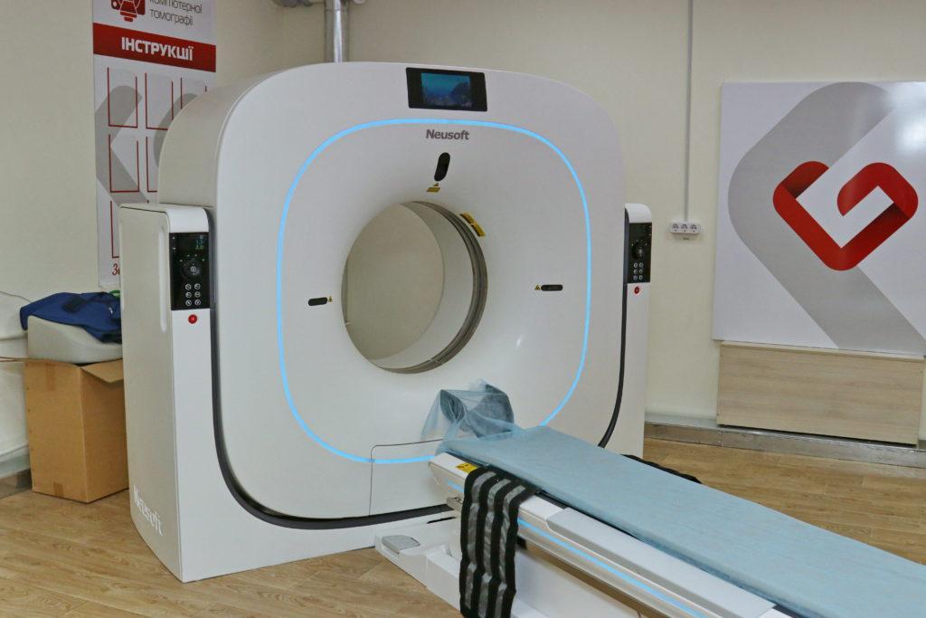 Обстеження на комп'ютерному томографі проходять 500 бердянців на місяць