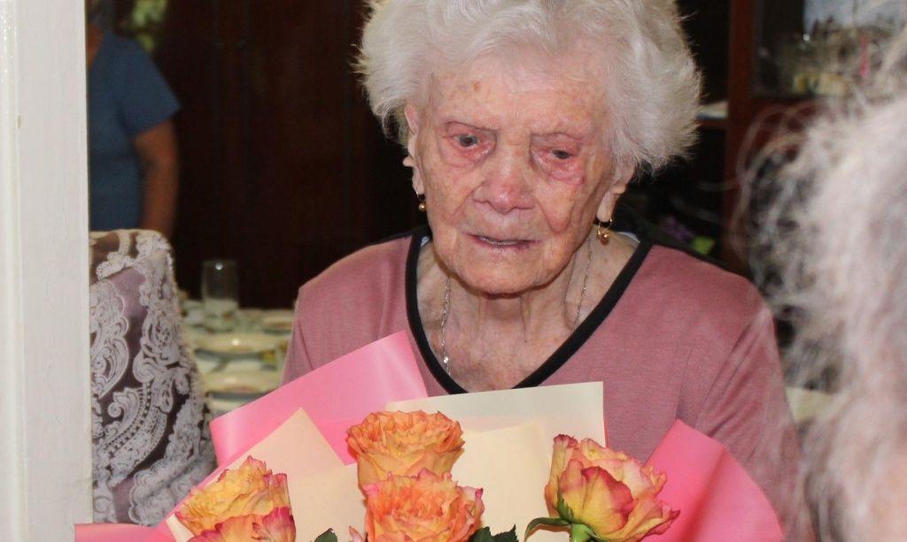 Мешканка Бердянська відсвяткувала 100-річний ювілей