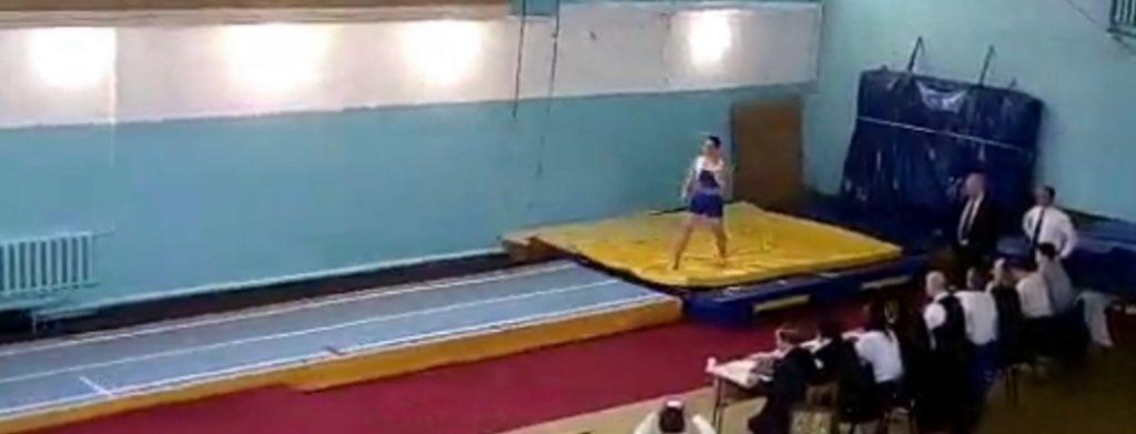 Бердянские акробаты на Чемпионате Украины в Николаеве