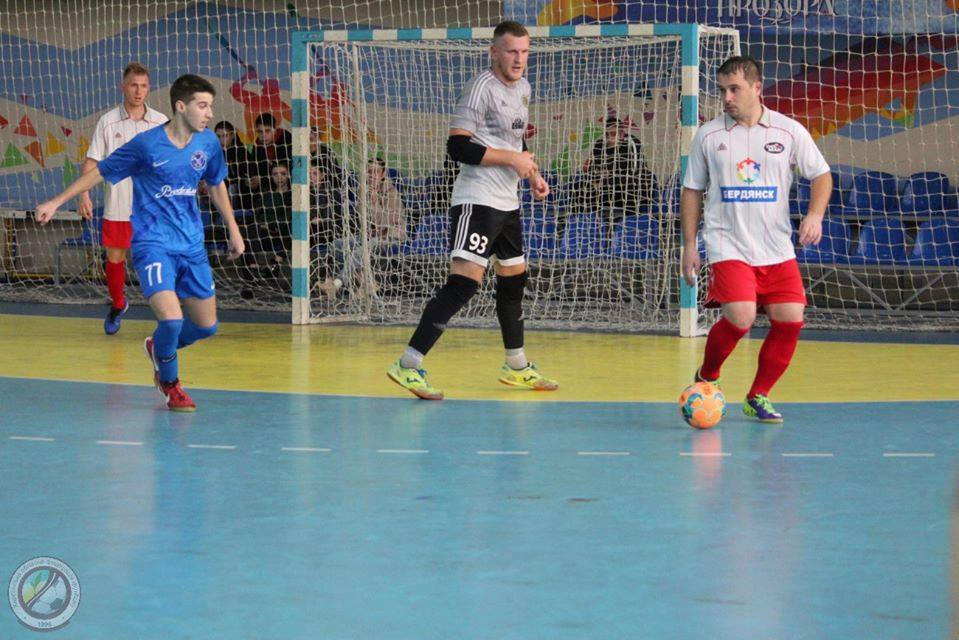 МФК «Бердянск» стартовал с поражения в первой лиге футзального чемпионата Украины