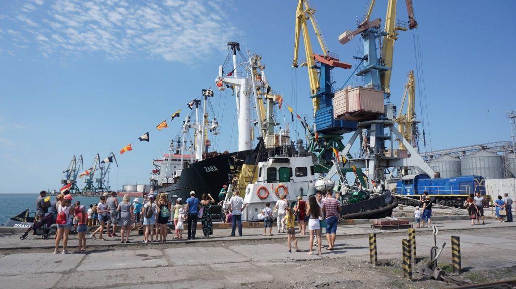 В Бердянському порту пройшов День відкритих дверей