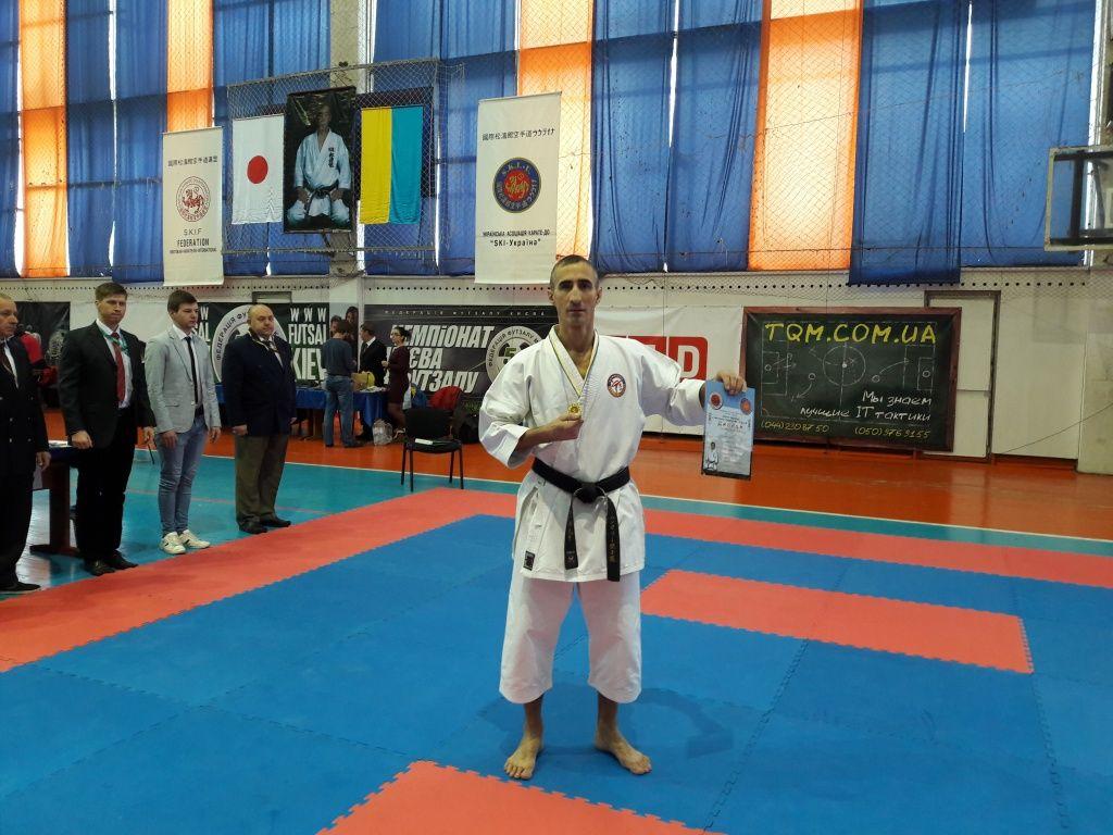 Сергей Шурпан подтвердил свое мастерство, завоевал золотую медаль Кубка Украины