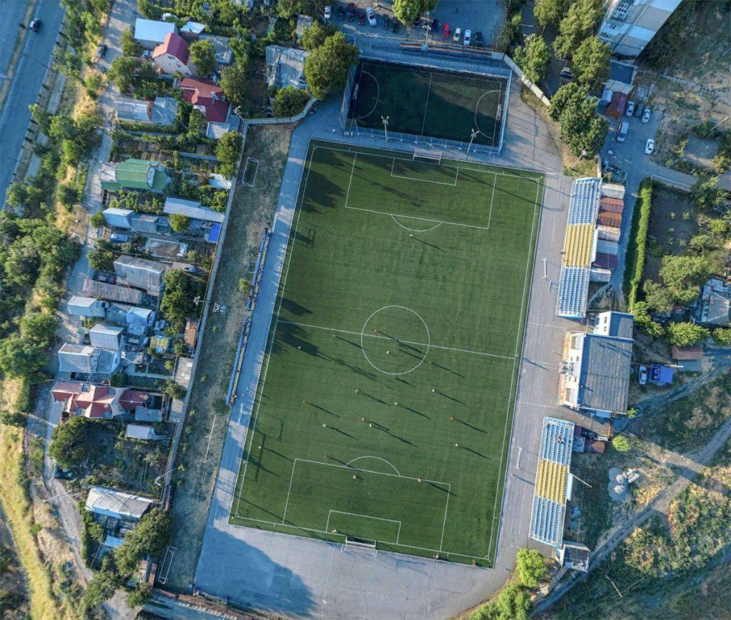В Бердянске прошел 1-й тур чемпионата города по футболу