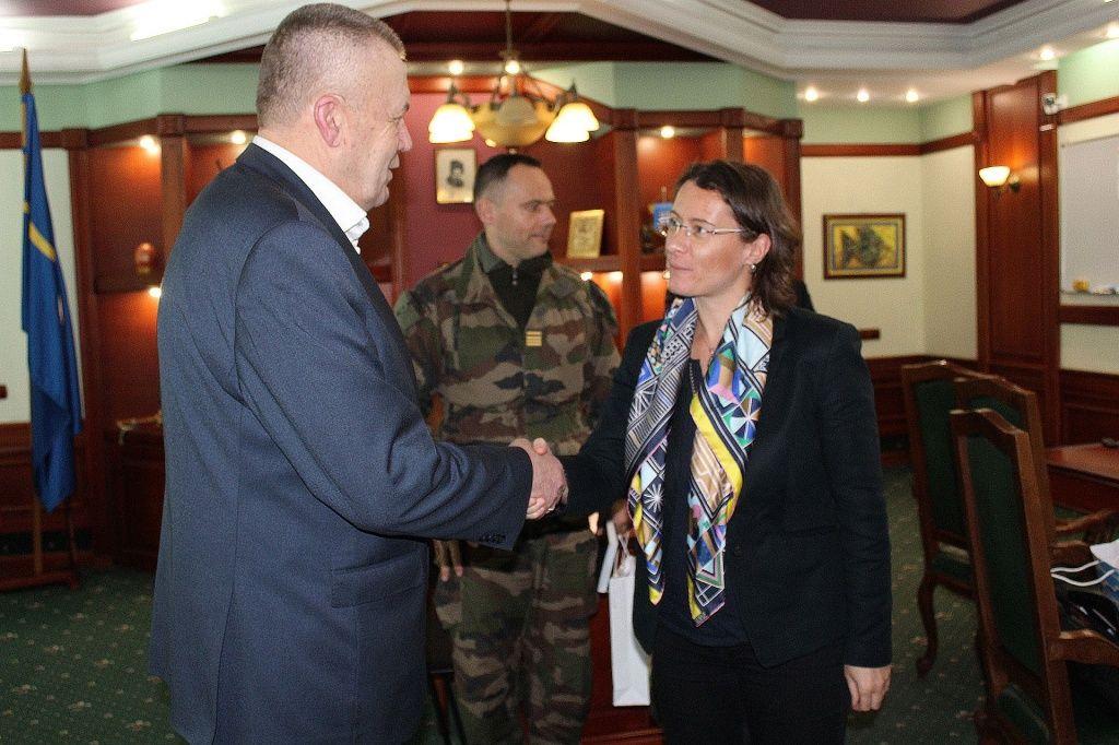 Міський голова зустрівся з Послом Франції в Україні Ізабель Дюмон