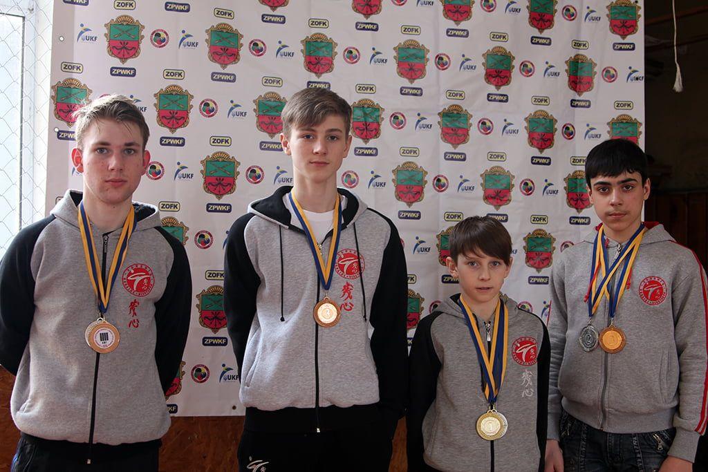 Каратисты из Бердянска приняли участие в Чемпионате Запорожской области