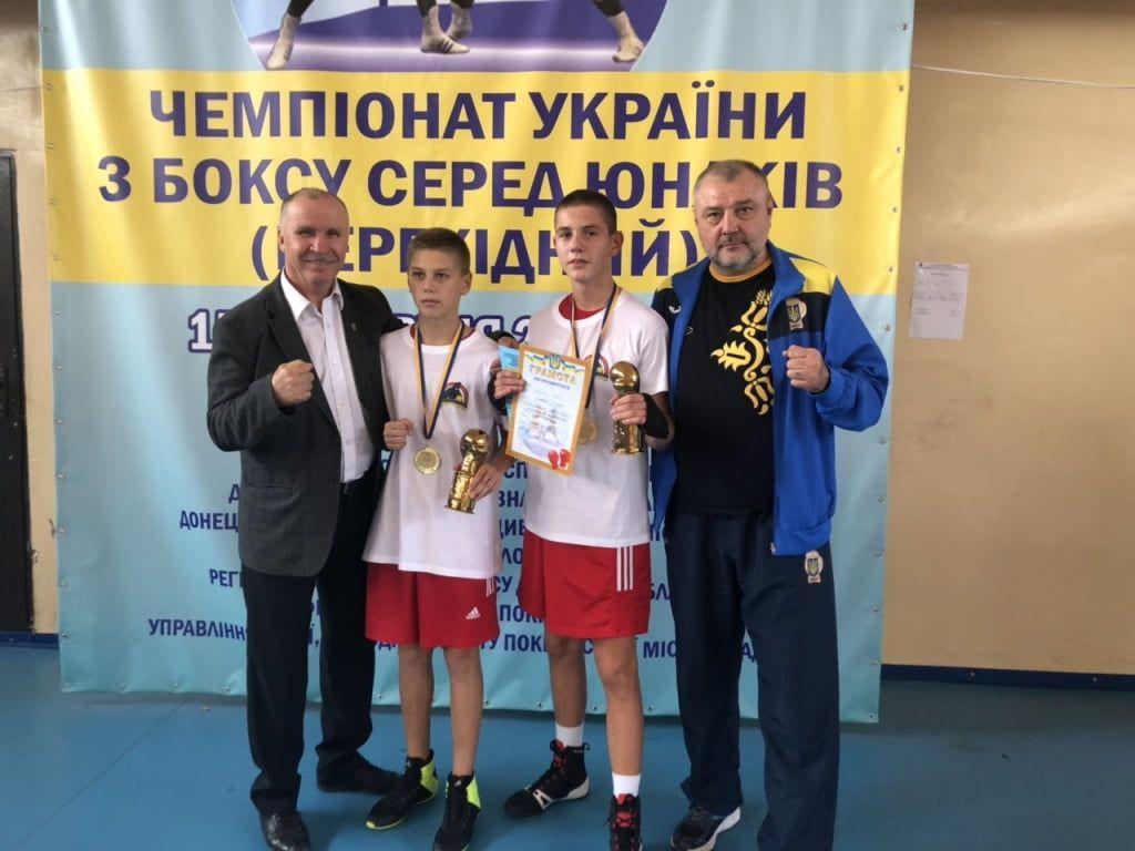 Савелий Супрунец и Дмитрий Мищенко – чемпионы Украины по боксу среди юниоров