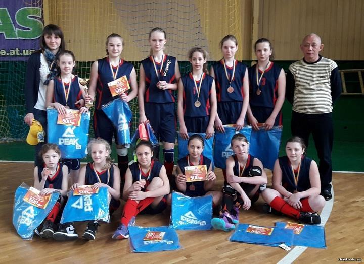 Баскетболистки «ДЮСШ-2004» уверенно выиграли три матча домашнего тура