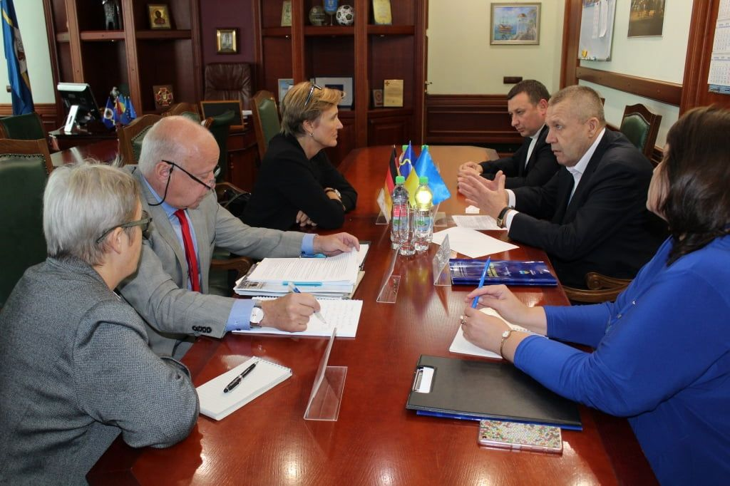 Бердянськ відвідав Надзвичайний і Повноважний Посол Федеративної Республіки Німеччина в Україні