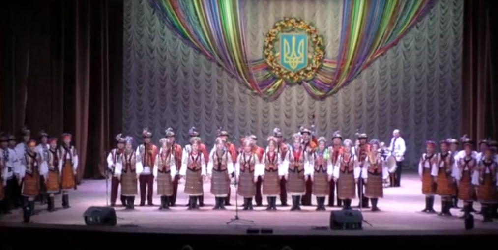«Гуцулія» у Бердянську - відео