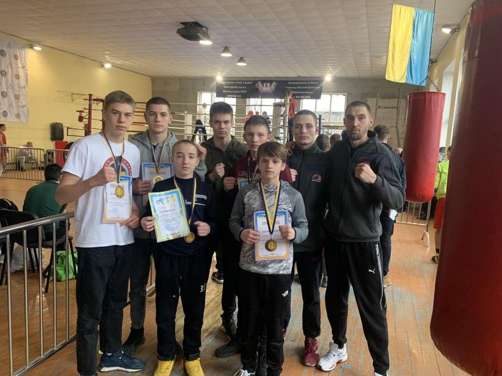 У бердянских боксеров шесть медалей Всеукраинского турнира памяти МС СССР Виктора Швачки