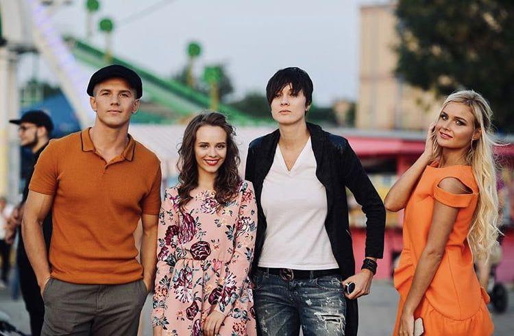 Главная героиня сериала «#школа» снялась в клипе в Бердянске