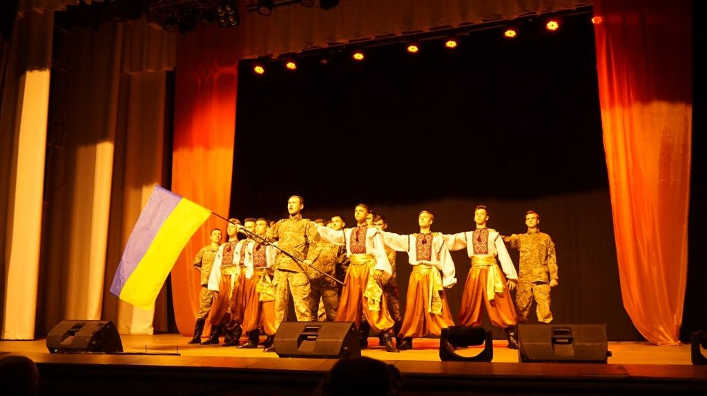 В Бердянську привітали військових з Днем захисника України