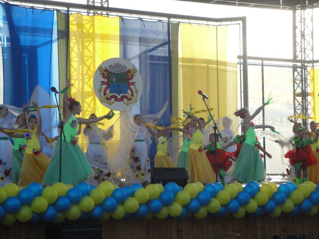 Ко Дню города в Бердянске состоялся праздничный концерт