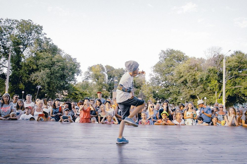 В Бердянске прошел танцевальный фестиваль – «ЕDинство культур»