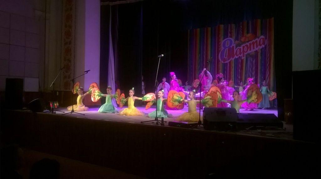 В Бердянске к 8-му марта состоялся праздничный концерт