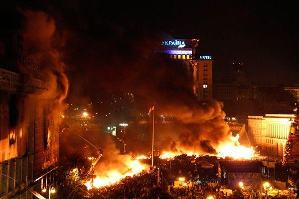 Украина профинансировала съемки фильма оМайдане Первая сотня