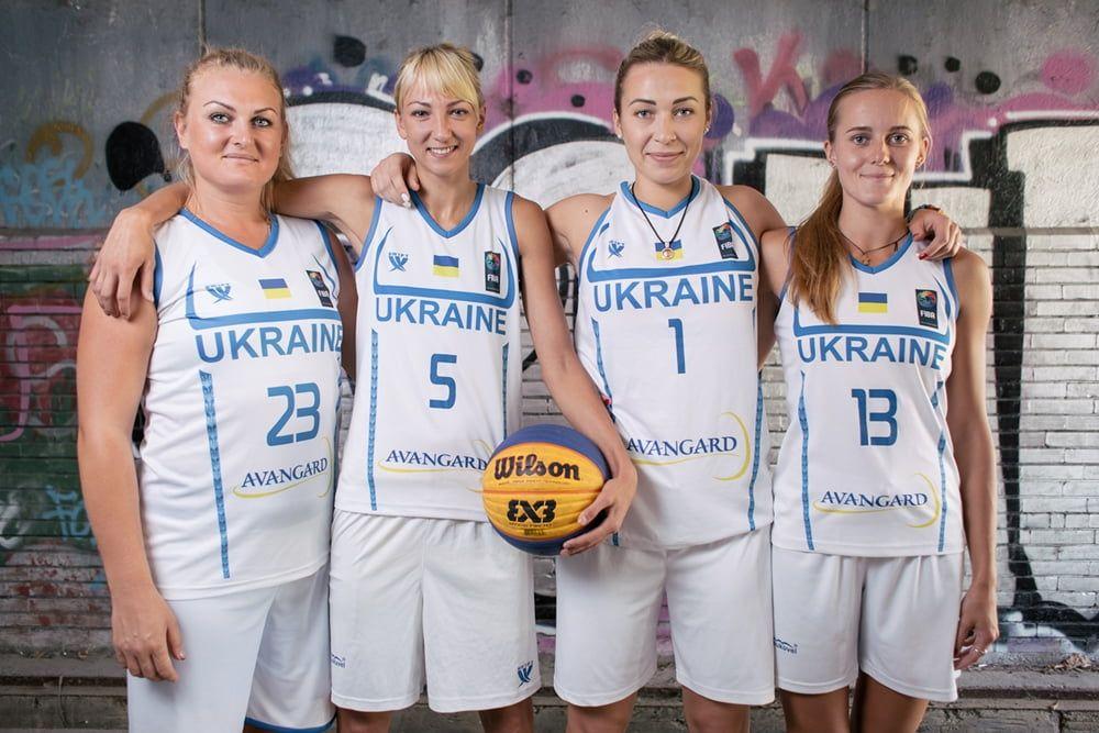 Анна Зарицкая в составе сборной Украины по баскетболу 3х3 стала шестой на чемпионате Европы