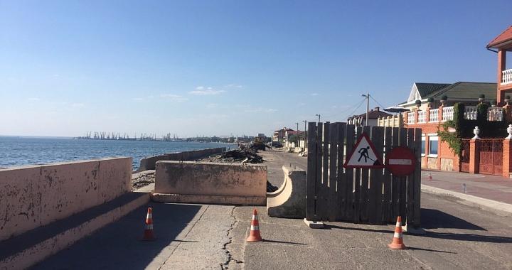 «Бердянськбудтрест» отримає ще 10 мільйонів на завершення реконструкції набережної