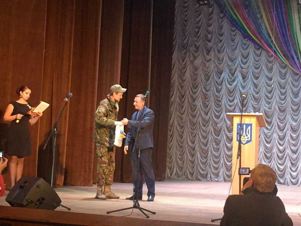 Ко Дню защитника Украины в Бердяске состоялся праздничный концерт