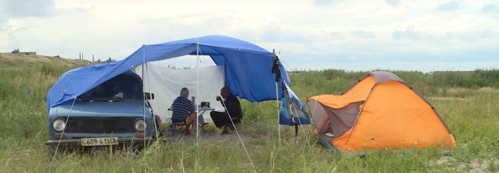 Бердянські рятувальники надали допомогу сім`ї відпочивальників із м. Харків