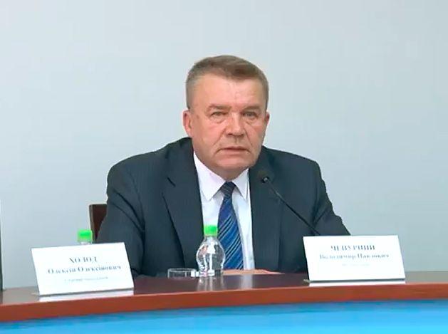 Владимир Чепурной намерен раз в неделю отчитываться в городских средствах массовой информации