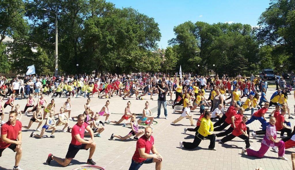 Олимпийский день в Бердянске