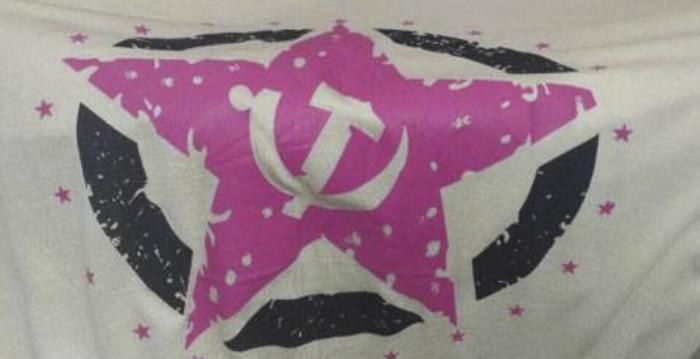 У Бердянську поліцейські вилучили товар із забороненою символікою