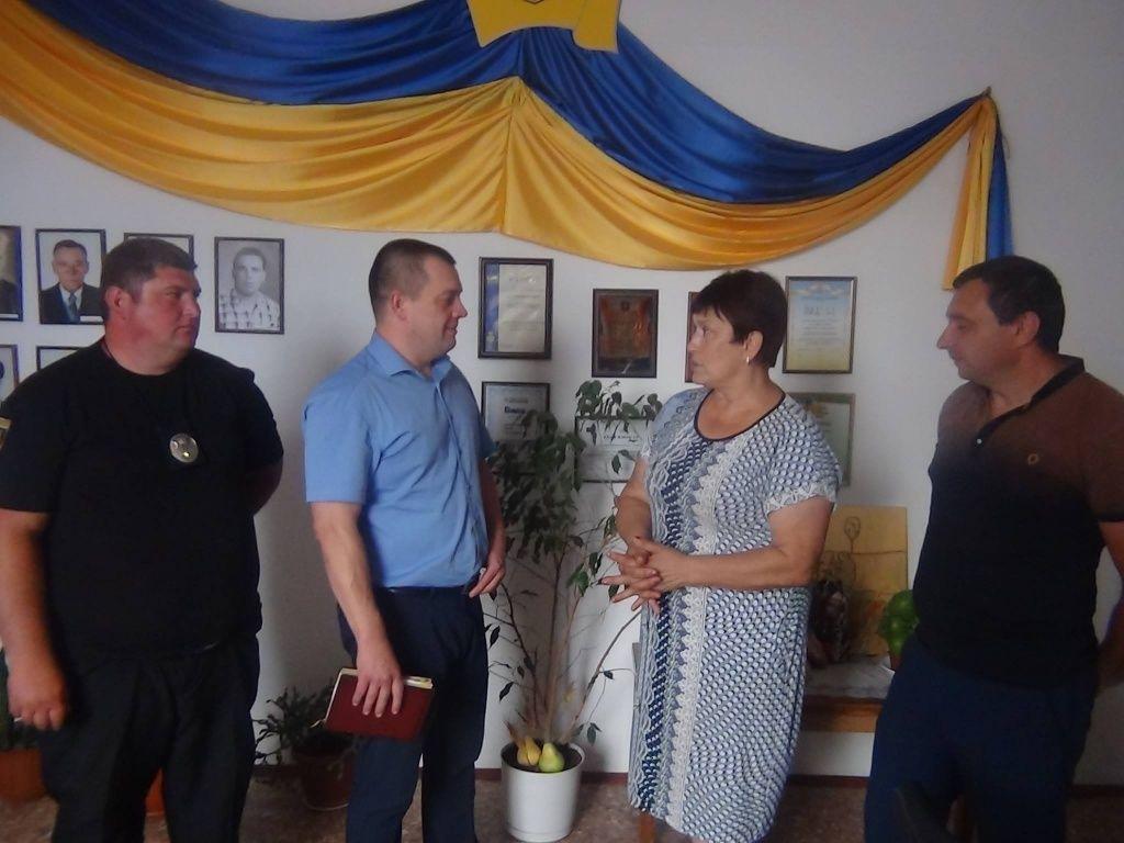 Керівник Бердянського відділу поліції провів черговий прийом жителів Бердянського району.