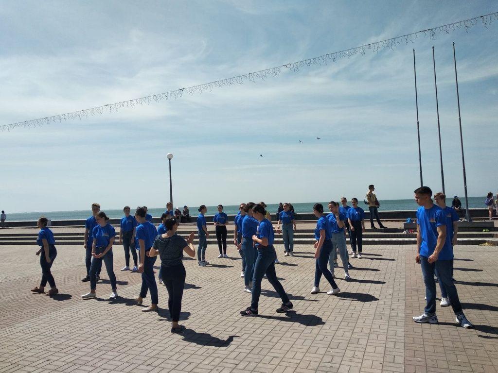 В Бердянске прошел Олимпийский день
