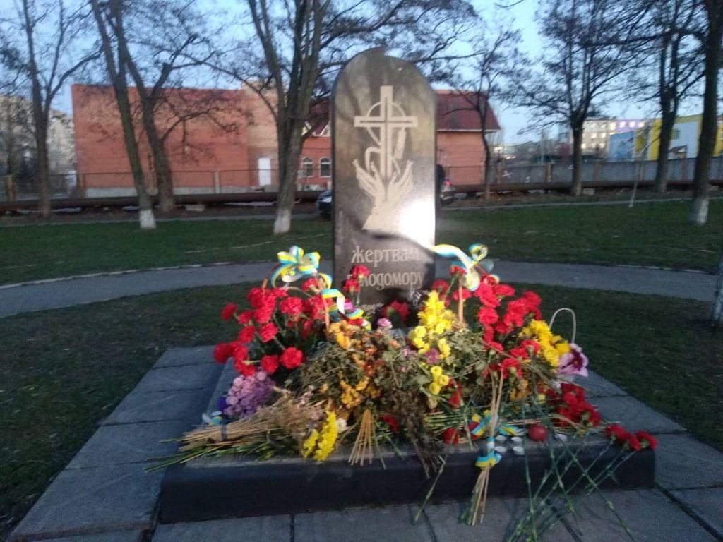 В Бердянську вшанували пам'ять жертв голодоморів