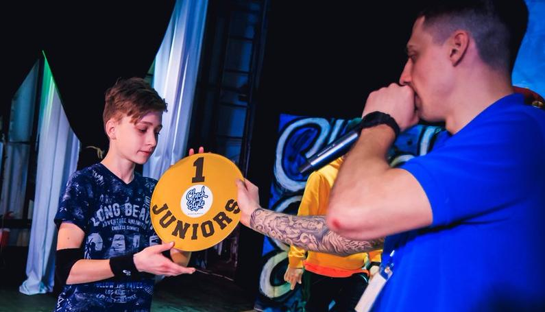Алексей Згурьев – победитель Хип-Хоп фестиваля «Check da style 2017»