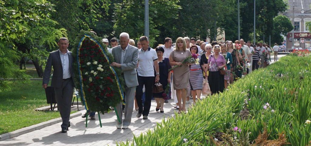 В Бердянську вшанували пам'ять жертв війни