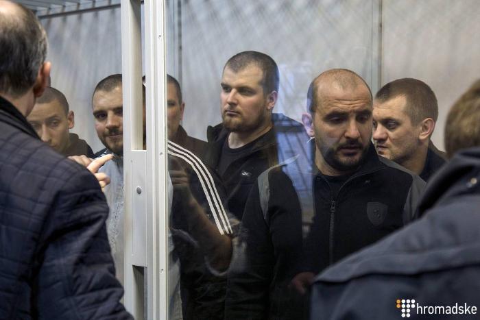 Суд продлил арест трем фигурантам убийства Виталия Олешко «Сармата»