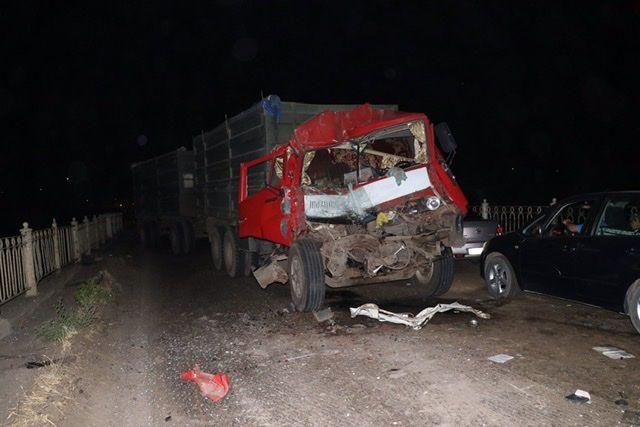 Серьезнейшая авария на мосту в Азовском. Трасса заблокирована