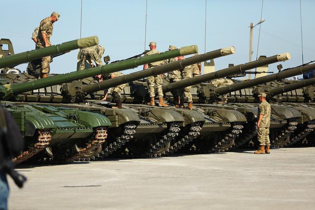 Инфографика отМуженко: сколько боевой техники навооружении ВСУ