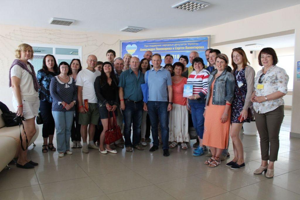 В Бердянську пройшов ювілейний ХХ фестиваль журналістів «Азовське літо – 2018»