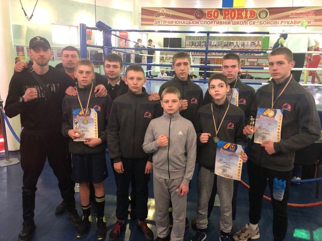 Дмитрий Мищенко и Савелий Супрунец взяли золото на региональном чемпионате Украины по боксу U14