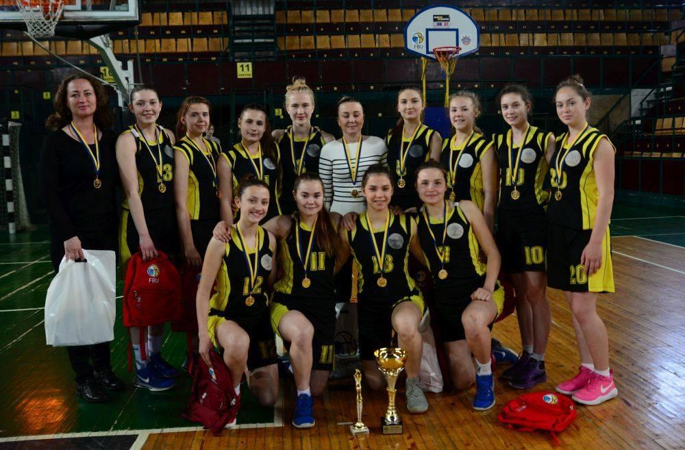 Бердянские баскетболистки U-17 защитили титул чемпионок Украины