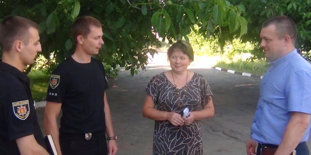 Керівництво Бердянського відділу поліції провело черговий прийом жителів Бердянського району з особистих питань