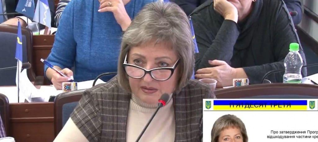 Депутат І. Попова: «Мешканці приватного сектору повинні отримувати додаткові кошти у вигляді тротуарів, доріг та освітлення»