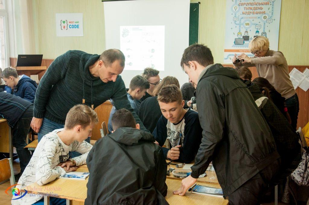 В Бердянську провели майстер-клас із робототехніки