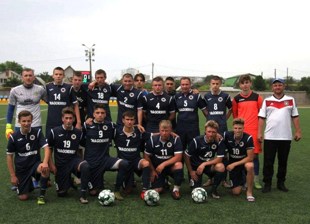 Дмитрий Голуб приносит сборной Бердянска первую победу в чемпионате области