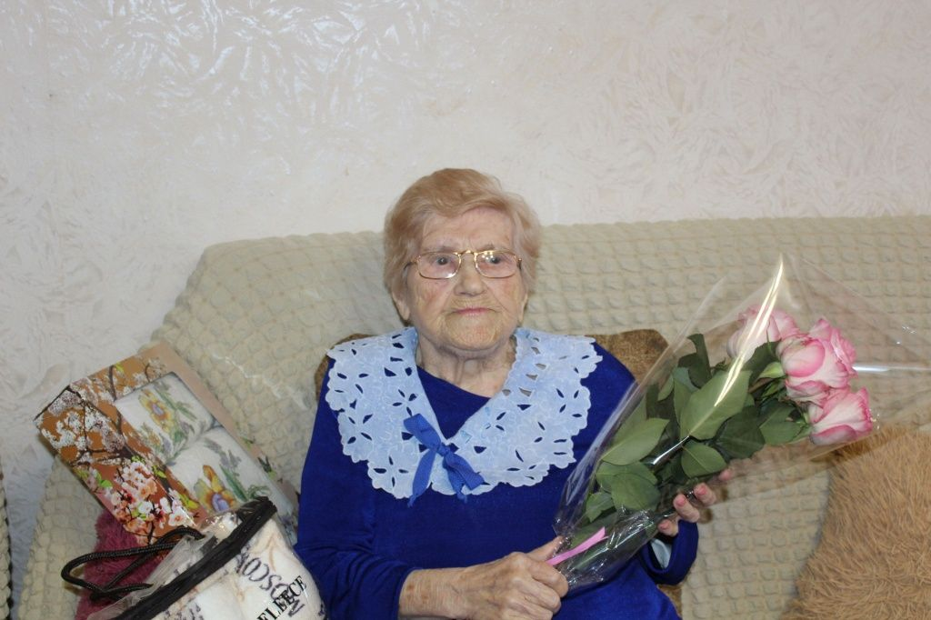 Мешканка Бердянська Ганна Макарівна Олейник святкує 102-й день народження