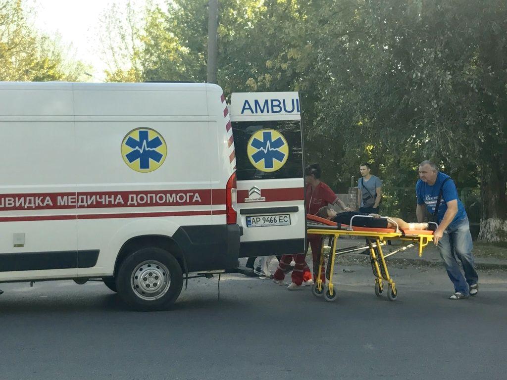В Бердянську автомобіль збив дівчинку