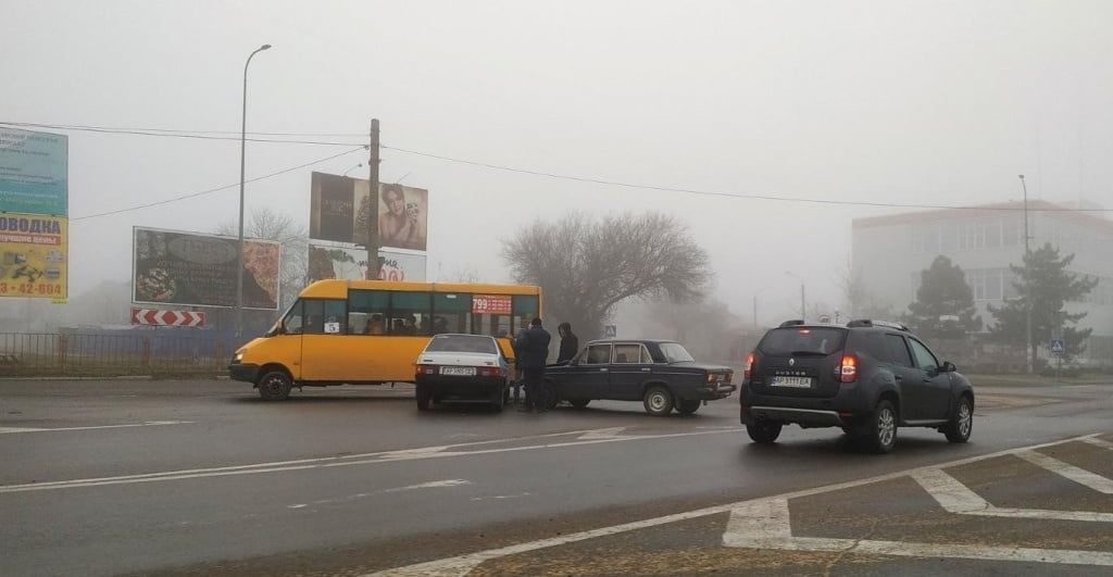 В Бердянске ДТП с участием двух «ВАЗов»