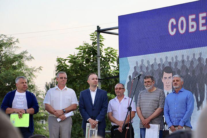Собеседование в центре Бердянска прошли 6 кандидатов из 10. Оба Пономарева не явились