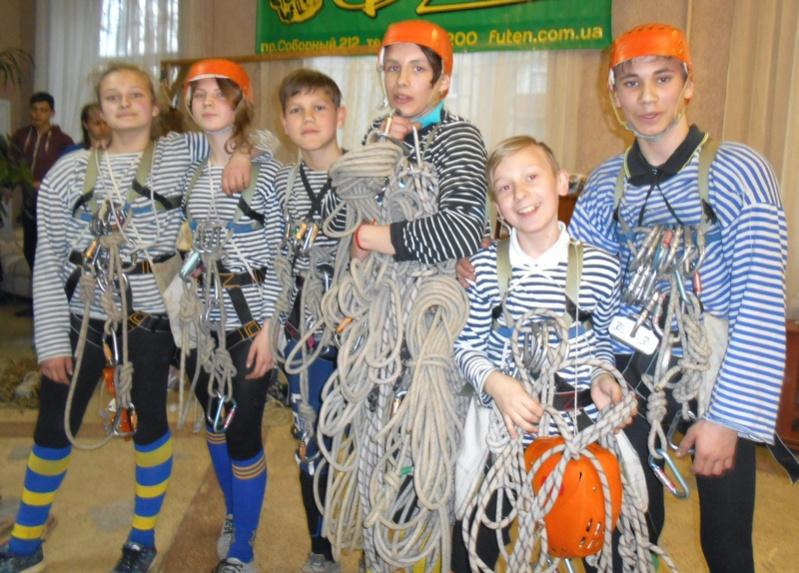 Бердянские туристы-спортсмены абсолютные чемпионы Запорожской области 2017 года
