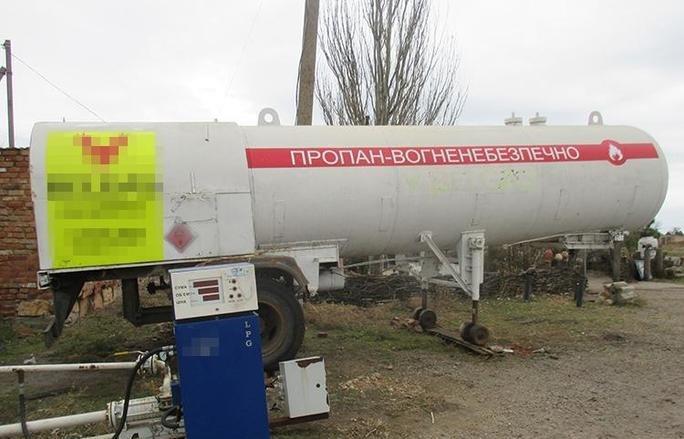 Прокуратура встановлює організаторів незаконної газової заправки в Приморську