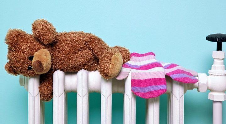 Температурный режим в садах, школах и больнице в пределах нормы
